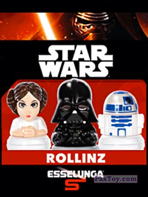 PaxToy Esselunga: Star Wars 1.0 - Rollinz 2016