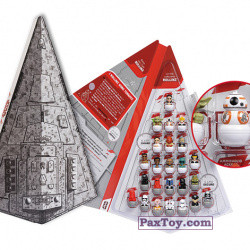 PaxToy Esselunga (Italy)   2018 Star Wars 2.0   Rollinz 01 star destroyer collector