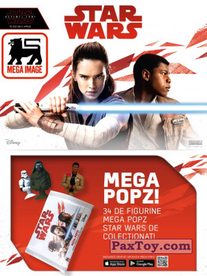 PaxToy Mega Image: Star Wars Stikeez Disney
