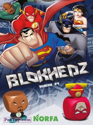 PaxToy Norfa: Superherojai (Blokhedz)