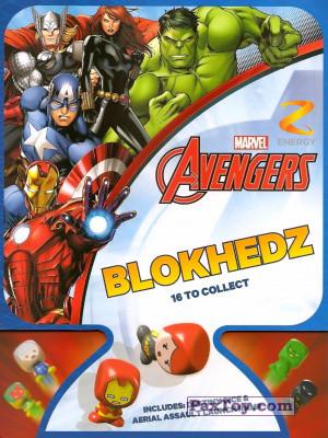 PaxToy Z Energy 0 2015 Marvel Avengers (Blokhedz) logo tax