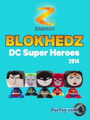PaxToy Z Energy: DC Super Heroes (Blokhedz)