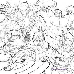PaxToy Z Energy   2015 Marvel Avengers (Blokhedz) 0003