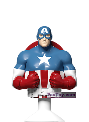 PaxToy.com - 01 Captain America из Kroger: Marvel Avengers Micro Pop