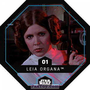 PaxToy.com - 01 Leia Organa из REWE: Star Wars Cosmic Shells