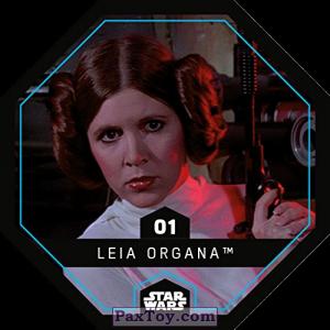 PaxToy.com - 01 Leia Organa из REWE: Star Wars Cosmic Shells