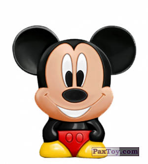PaxToy.com - 01 Mickey Mouse - Mickey Mouse & Friends из REWE: Die Disney Wikkeez Toys
