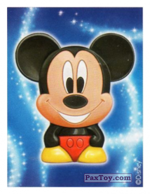 PaxToy.com - 01 Mickey Mouse - Mickey Mouse & Friends (Sticker) из REWE: Die Disney Wikkeez Stickers