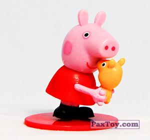 PaxToy.com - 01 Свинка Пеппа (первое издание) из Choco Balls: Свинка Пеппа