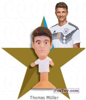 PaxToy.com - 01 Thomas Müller из REWE: DFB Fussball Popz 2018 (Stikeez)