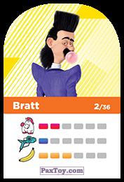 PaxToy.com - 02 Bratt (Сторна-back) из REWE: Minions Cards