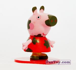 PaxToy.com - 02 Грязнуля Свинка Пеппа (первое издание) из Choco Balls: Свинка Пеппа