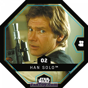 PaxToy.com - 02 Han Solo из REWE: Star Wars Cosmic Shells