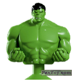 PaxToy.com - 02 Hulk (Canada) (Сторна-back) из Air Miles: Marvel Mania (Micropopz)