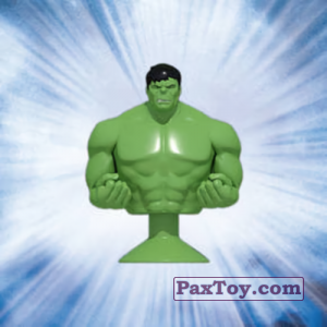 PaxToy.com - 02 Hulk (Canada) из Air Miles: Marvel Mania (Micropopz)