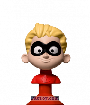 PaxToy.com - 03 Dash Parr из Dis-Chem: Disney MicroPopz! (Stikeez)