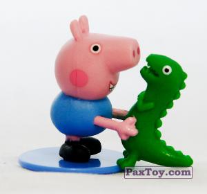 PaxToy.com - 03 Джордж (первое издание) из Choco Balls: Свинка Пеппа