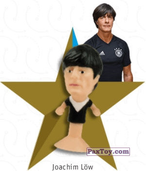 PaxToy.com - 03 Joachim Löw из REWE: DFB Fussball Popz 2018 (Stikeez)