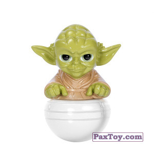 PaxToy.com - 03 Йода из Магнит: Star Wars Фигурки-Героев (Неваляшки)
