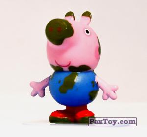PaxToy.com - 04 Грязнуля Джордж (первое издание) из Choco Balls: Свинка Пеппа