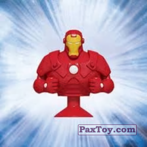 PaxToy.com - 04 Iron Man (Canada) из Air Miles: Marvel Mania (Micropopz)