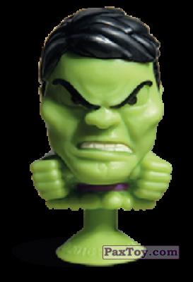 PaxToy.com - 05 Huk (Stikeez) из Carrefour: Marvel Avengers (Megapopz)
