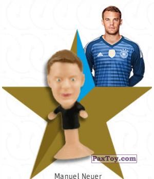 PaxToy.com - 05 Manuel Neuer из REWE: DFB Fussball Popz 2018 (Stikeez)