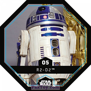 PaxToy.com - 05 R2-D2 из REWE: Star Wars Cosmic Shells