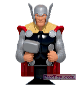 PaxToy.com - 05 Thor (Canada) (Сторна-back) из Air Miles: Marvel Mania (Micropopz)