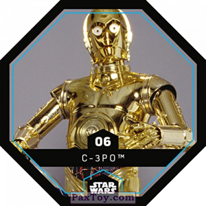 PaxToy.com - 06 C-3PO из REWE: Star Wars Cosmic Shells