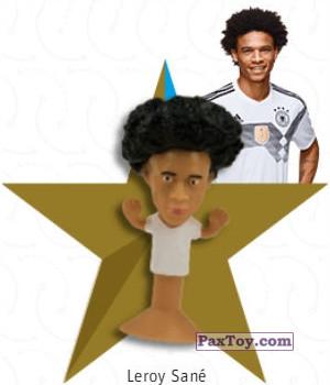 PaxToy.com - 06 Leroy Sané из REWE: DFB Fussball Popz 2018 (Stikeez)