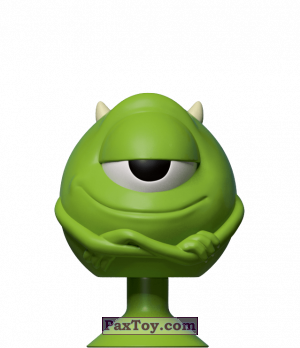 PaxToy.com - 06 Mike Wazowski из Dis-Chem: Disney MicroPopz! (Stikeez)