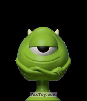 PaxToy.com - 06 Mike Wazowski из Dis-Chem: Disney MicroPopz! (Stikeez)