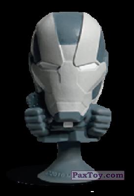 PaxToy.com - 06 War Machine (Stikeez) из Carrefour: Marvel Avengers (Megapopz)
