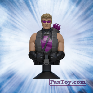 PaxToy.com - 07 Hawkeye (Canada) из Air Miles: Marvel Mania (Micropopz)