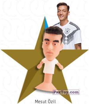 PaxToy.com - 07 Mesut Özil из REWE: DFB Fussball Popz 2018 (Stikeez)