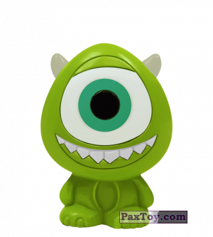 PaxToy.com  Фигурка 07 Mike Wazowski - Monster, Inc. из REWE: Die Disney Wikkeez Toys