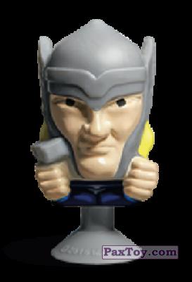 PaxToy.com - 07 Thor (Stikeez) из Carrefour: Marvel Avengers (Megapopz)