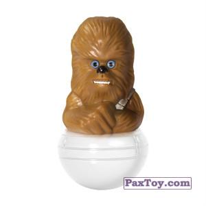 PaxToy.com - 08 Чубакка из Магнит: Star Wars Фигурки-Героев (Неваляшки)