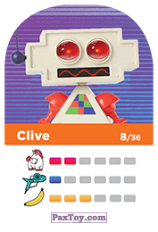 PaxToy.com - 08 Clive (Сторна-back) из REWE: Minions Cards