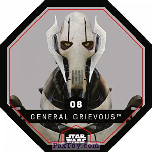 PaxToy.com - 08 General Grievous из REWE: Star Wars Cosmic Shells
