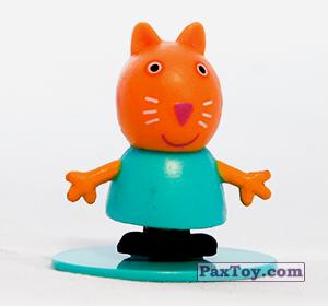 PaxToy.com - 08 Киска Кэнди (первое издание) из Choco Balls: Свинка Пеппа