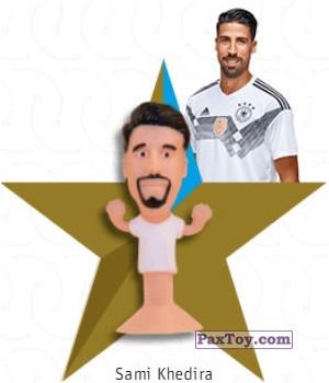 PaxToy.com - 08 Sami Khedira из REWE: DFB Fussball Popz 2018 (Stikeez)