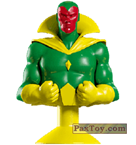PaxToy.com - 08 Vision (Canada) (Сторна-back) из Air Miles: Marvel Mania (Micropopz)