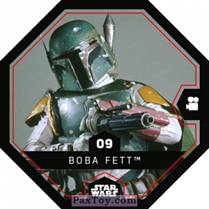 PaxToy.com - 09 Boba Fett из REWE: Star Wars Cosmic Shells