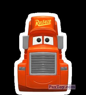 PaxToy.com - 09 Mack Truck - Cars из REWE: Die Disney Wikkeez Toys