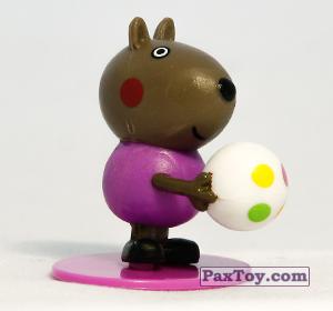 PaxToy.com - 09 Пёс Дэнни (первое издание) из Choco Balls: Свинка Пеппа