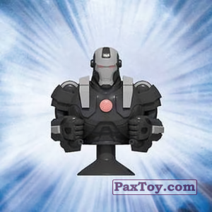 PaxToy.com - 09 War Machine (Canada) из Air Miles: Marvel Mania (Micropopz)