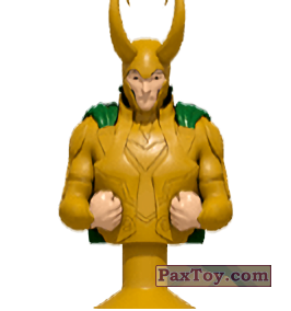 PaxToy.com - 10 Loki (Canada) (Сторна-back) из Air Miles: Marvel Mania (Micropopz)