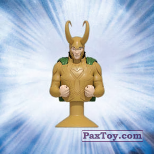 PaxToy.com - 10 Loki (Canada) из Air Miles: Marvel Mania (Micropopz)